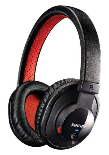 Philips Shb7000/28 Bluetooth Stereo Headset, Black
