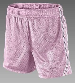 Nike Field Mesh Girls' Training Shorts (Pink Medium)