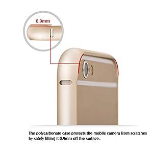 iPhone 6 Case, COTEetCI® Metal Frame Bumper Case [ALUMINUM BUMPER] for iPhone 6 Plus 5.5'' Inch Camera Protective Cover