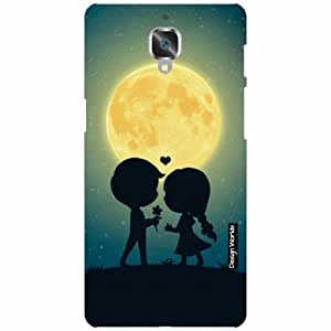 Design Worlds OnePlus 3 Back Cover - light Designer Case and Covers