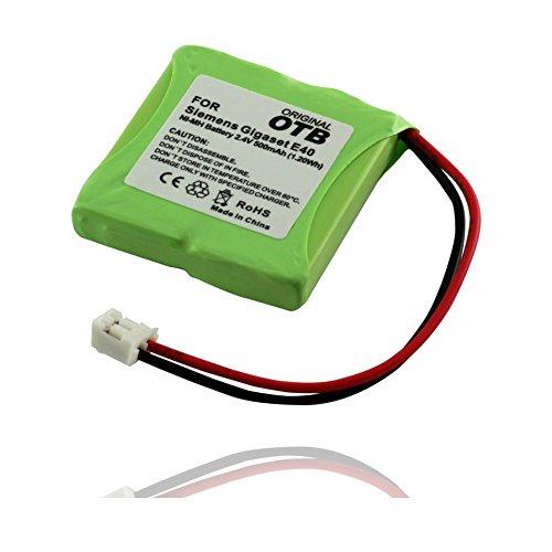 OTB Akku accu Batterie battery kompatibel zu Siemens Gigaset E40 / E45 / E450 / E450 ECO / E450 SIM / E455 / E455 ECO / E455 SIM Twin NiMH