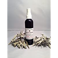 White Sage Large 4 Oz - Liquid Smudge Spray - Authentically Prepared
