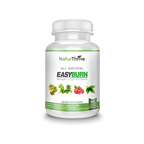 NaturThrive Easy Burn Natural Weight Loss Supplement (Blue Rasberry Extract compare prices)