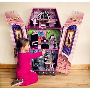 Teamson kids vampire villa coffin doll house toys games - Casa de monster high ...
