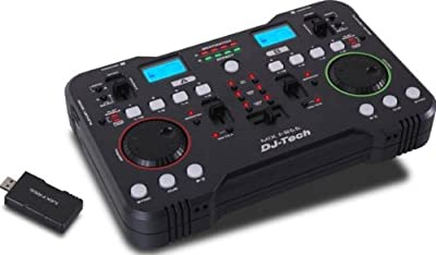 DJTECH MIXFREE DJ Mixer from DJ Tech Pro USA, LLC