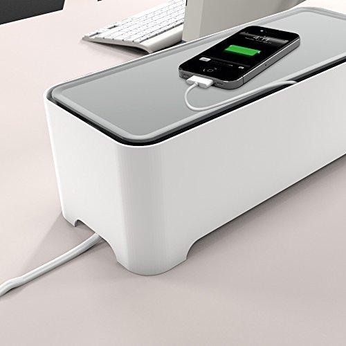 E-BOX - Power Cable Box for Desk & TV & Computer | Cable ...