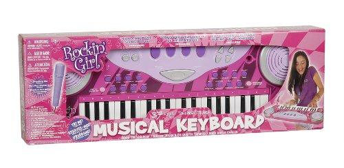 [해외]dz TOYZ 춤 추자 '소녀 37 키 키보드/Kidz Toyz Rockin` Girl 37 Key Keyboard