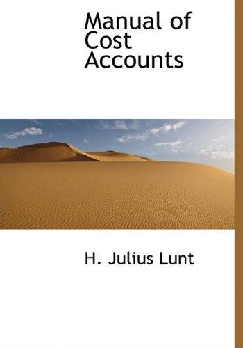 Manual of Cost Accounts