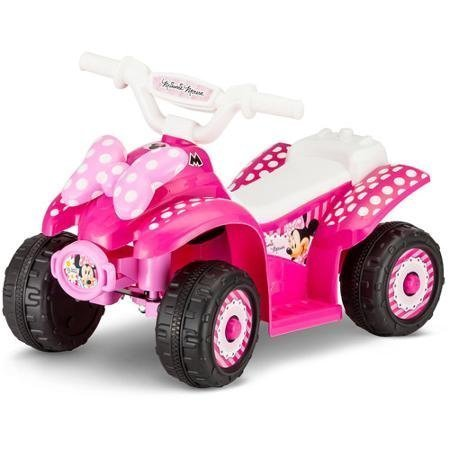 New - Minnie 6V Battery Powered Ride-On Quad - 2 year warranty - High quality. (Battery Powered Baby Cars compare prices)