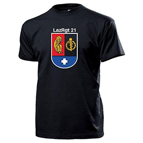21-lazrgt-reggimento-ospedale-selters-infermieri-armardi-scudetti-stemmi-t-shirt-13309-nero-x-large