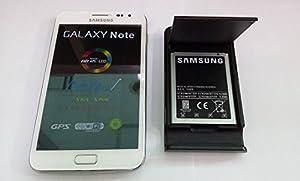 Samsung Galaxy Note GT-N7000 Unlocked Cellphone--International Version(Ceramic White)