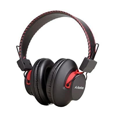 Avantree Audition, Bluetooth 4.0 NFC over-the-ear Headphones, dual mode,wireless & wired 2-in-1,Superb sound, Long music time(40hrs), Universal compatible with smart phones, Tablets, computers and nearly all Bluetooth enabled audio devices