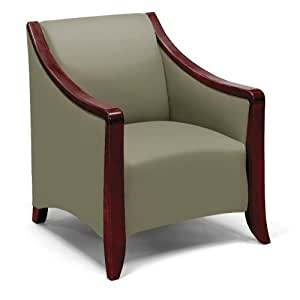 Lounge chair with wood frame reception room chairs office products