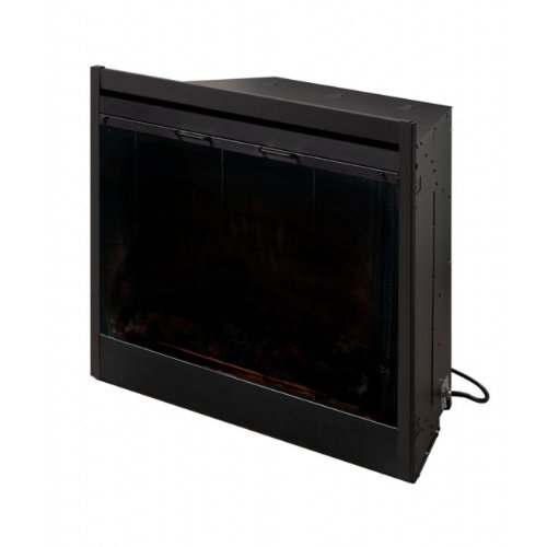 Dimplex Bf39Stp 39-Inch Deluxe Built-In Electric Firebox Without Resin Logs And Brick Backing