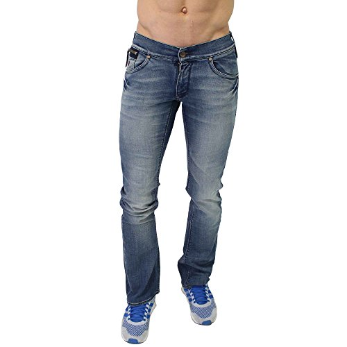 Energia uomo JEANS slim Morris Slim Fit in blu Blau 28 W/34 L