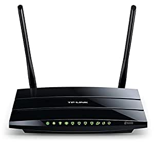 TP-LINK TL-WDR3500 Wireless N600 Dual Band Router, 2.4GHz 300Mbps+5Ghz 300Mbps, USB port, IP QoS, Wireless On/Off Switch