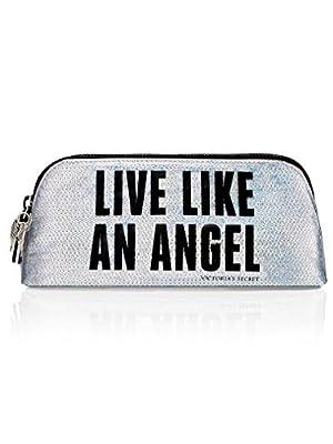 "Victoria's Secret Fashion Show Small Cosmetic Bag ""Live Like An Angel"""