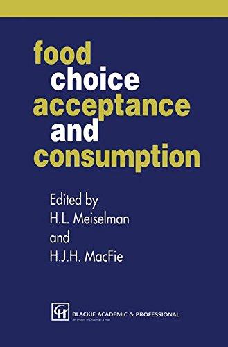 Consommation, l'acceptation et les choix alimentaires