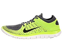 Nike Mens Free Flyknit 4.0 Running Shoes from NIKE