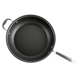 Anolon Advanced Hard Anodized Nonstick 14-Inch Mega Skillet by Anolon