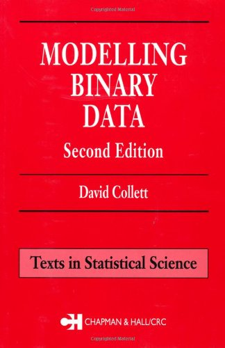 Modelling Binary Data, Second Edition (Chapman &...