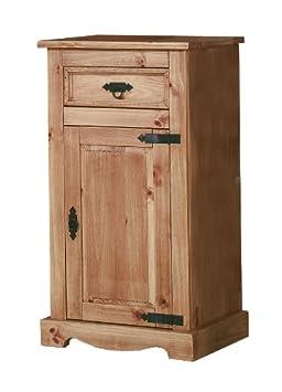 Ambientehome 57054 - Cómoda de pino, 44,5 x 61,5 x 109 cm