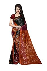Amazing Colourfull Bandhnai Saree