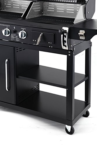 tepro kohle gas kombigrill buffalo gasgrill bericht. Black Bedroom Furniture Sets. Home Design Ideas