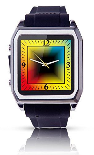 Scinex® SW30 16GB Bluetooth Smart Watch GSM Phone - US Warranty (Silver/Black)