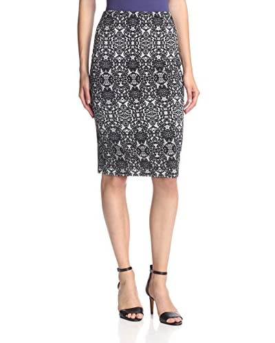 NYDJ Women's Lace Print Skirt