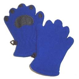 Bear Hands TF1000CBL Toddler Fleece Mittens - Cobalt Blue