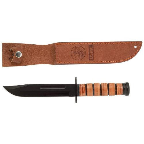 Military Stack Handle Leather