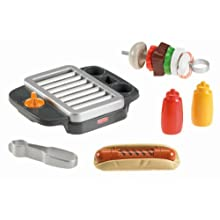 Fisher-Price X2927 Fisher-Price Servin' Surprises Grill Set