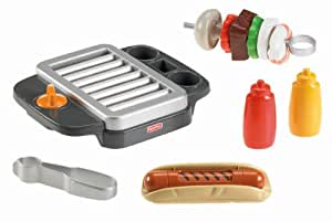 Fisher-Price Servin' Surprises Barbeque Grill Play Food Set