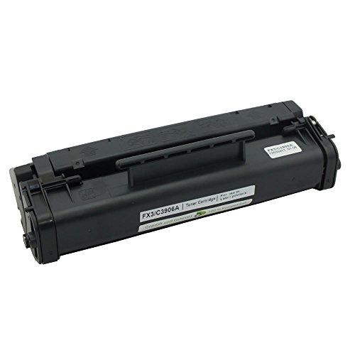 Toner Cartridge FX-3 (FX3/ FX-3/ fx3/ fx-3) rebuilt für Canon FAX-L200/L220/L240/L250/ 1557A003 /2895767 /451L95893 Black Schwarz