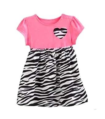 jumping beans ruffled zebra infant dress 9