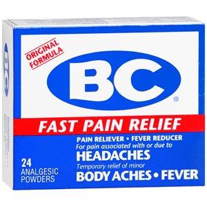 Amazon.com: BC HEADACHE POWDER 24 EACH: Health & Personal Care