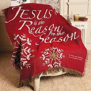 Christmas Throw Blankets