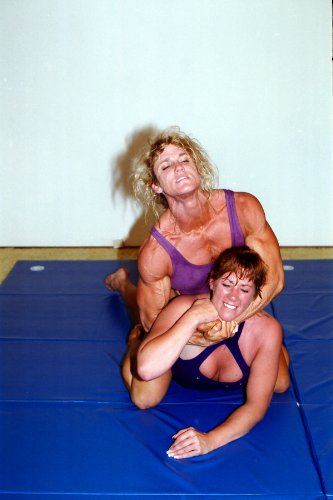 Women's Wrestling DVD - Girl vs. Girl Mat Action - LSP-PP169 - featuring Jacki and Suzy