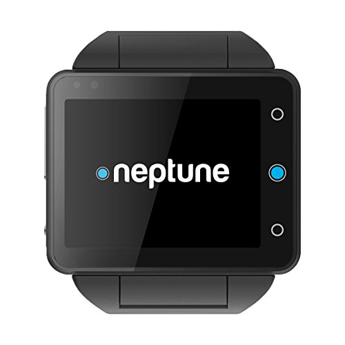 NEPTUNE Pine 16GB Smartwatch - Retail Packaging - Black
