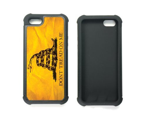 Dont Tread On Me Best 2in1 Custom Cell Phone Case Cover for iPhone 5, iPhone 5S at Amazon.com