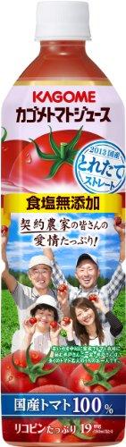 カゴメ トマトジュース 食塩無添加 900g×12本
