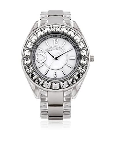 Morgan de Toi Reloj de cuarzo Woman M1123Sp Plateado 40 mm