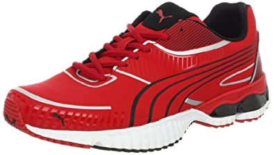 PUMA Men's Braca Running Shoe,Ribbon Red/Black,7.5 D US