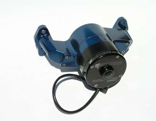 Meziere Enterprises Wp101B Small Block Chevy Electric Water Pump - Blue - 35Gpm