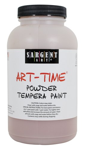 Sargent Art 22-7188 1-Pound Art Time Powder Tempera, Brown