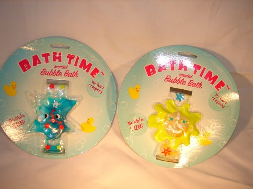 Two's Company Bath Time scented bubble bath bracelets 1 Banana Sunshine & 2 razzberry dazzle