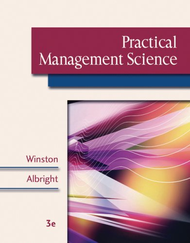 Practical Management Science ( CD-ROM, Decision