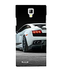 Amazing Car 3D Hard Polycarbonate Designer Back Case Cover for Micromax Canvas Xpress A99