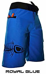 Tormenter Mens Tuna Board Boardshorts 40 Blue
